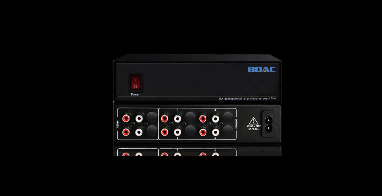音频分配器是伯奥克研发并生产的音频信号分配放大器设备.